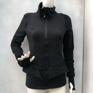 Lululemon Black City To Yoga Jacket Size 8
